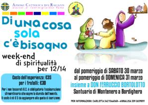 Esercizi spirituali ACR – 30/31 marzo