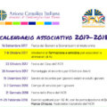Calendario associativo 2017/2018