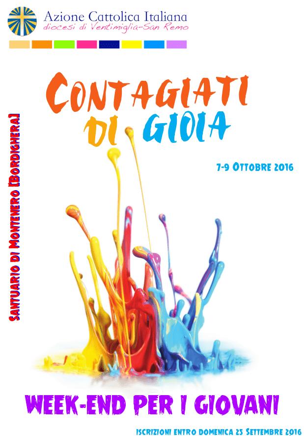 """""""Contagiati di Gioia"""" – Weekend Giovani"""