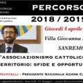 """Matteo Truffelli a """"Percorso"""""""